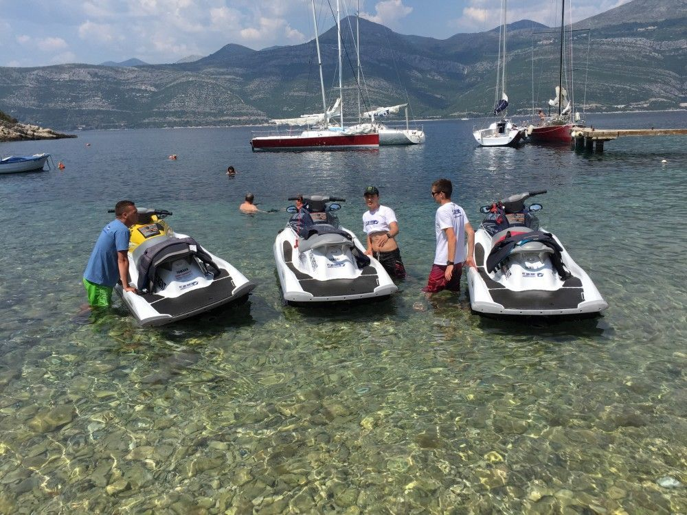 team building dubrovnik jet ski islands