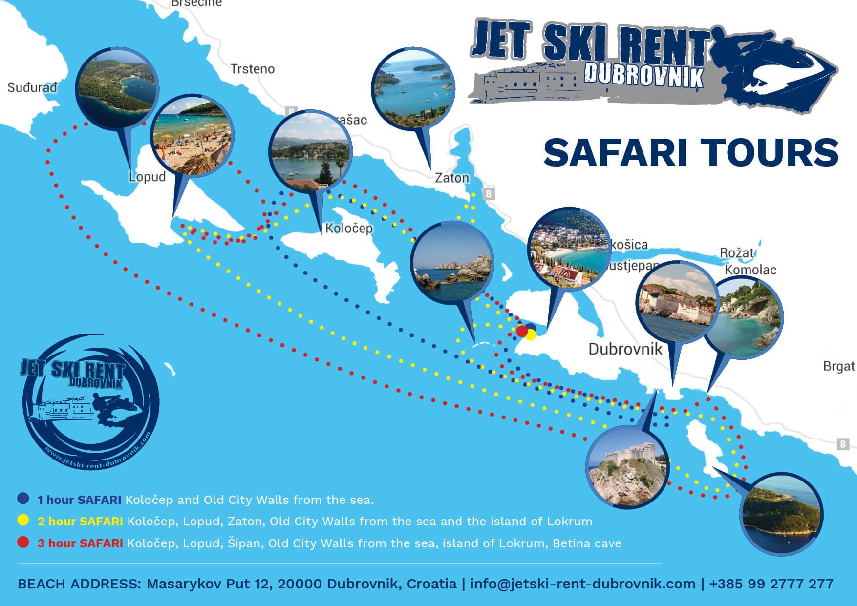 safari dubrovnik jetski
