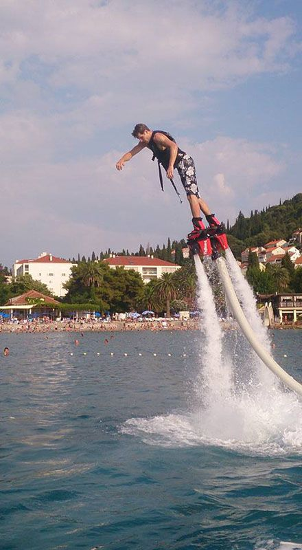 flyboard dubrovnik watersports