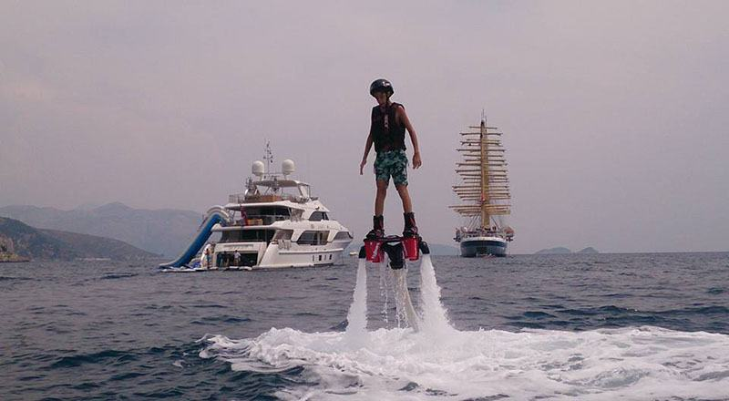 flyboard dubrovnik adventure