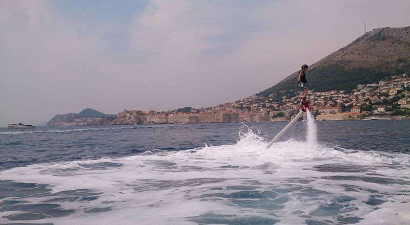 flyboard dubrovnik sea adventure